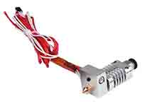 CR8 - 3D Printer Extruder Head 1.75 mm - 0.4 mm Nozzle - 12 Vdc