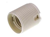 Suporte de lâmpada E27 Branco - com Casquilho BJB