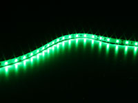 Roll of Self-Adhesive Green LED Strip - 300 2835 LEDs per Roll - IP65 - 5 m