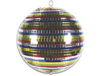 Bola de Espelhos 30 cm - Colorida - VDL30CMB