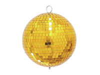 20 cm Mirror Ball - Golden