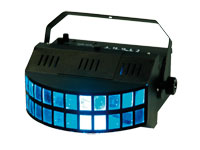 Kool Light Quatro Derby - Effet Double Derby 2 x 9 W LEDs