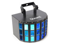 BUTTERFLY 3X 3W RGB LEDS 24 RAYOS
