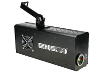 Red - green - yellow laser effect 10 DMX channels 160 mW