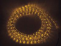 MANGUERA LUMINOSA LEDs AMARILLA-5M CON CONEXION