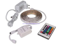 KIT TIRA DE LED RGB 3 METROS CON CONTROLADOR
