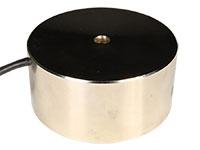 Electromagnet 24 Vdc - Electromagnetic Suction for 100 Kg Holding Force - Ø80 × 38 mm
