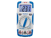 PeakTech P 1075 - 600V AC / DC digital multimeter ~ 2000 digit LCD
