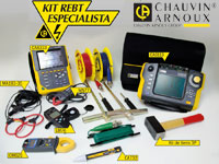 KIT REBT CATEGORIA ESPECIALISTA CHAUVIN ARNOUX