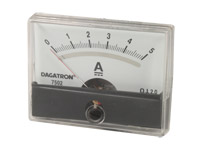 Analogue Current Panel Meter 60 x 47 mm - 5 A dc - AIM605000