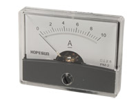 Analogue Current Panel Meter 60 x 47 mm - 10 A dc