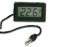 Digital Panel-Mount Thermometer with Liquid Crystal - PMTEMP1