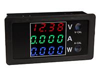 Panel Meter Instrument to LED, Voltmeter, Ammeter, Wattmeter - 100Vdc / 10Adc