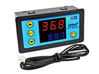 Digital Panel Thermostat Range -55 ~ 120ºC - 12Vdc