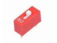Interrupteur DIP Horizontal 1 Contact - DS-02