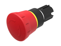 EAO - SERIES 45 - 45-2C36.1920.000 - Ø22,5 mm - Emergency-stop switch actuator - twist to release