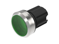 EAO - SERIES 45 - 45-2231.31H0.000 - Ø22,5 mm - Illuminated pushbutton actuator, Momentary - green