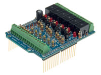 ARDUINO I/O SHIELD VELLEMAN board
