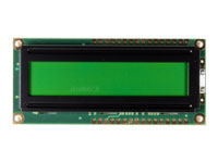 LCD ALFANUMERICO 16X2 CON BACKLIGHT - PC1602LRU-GWA-BP2Q