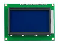 MODULO LCD GRAFICO 128X64 FONDO AZUL