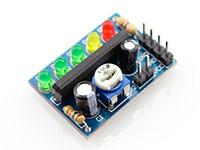 5 LEDs VU-Meter