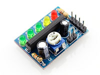 Vúmetro 5 LEDs