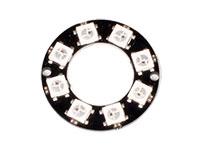 Anel LEDs - 8 x WS2812 5050 RGB - 1643