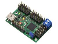 CONTROLADORA SERVOS USB 18 SERVOS MINI MAESTRO POLOLU - Versión ensamblada