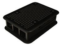 Teko - Caja Rasperry PI 4B - ABS - Negra  - TEK-BERRY4.9