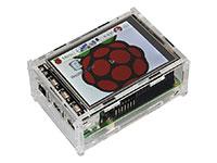 """jOY-it - Caja Raspberry Pi y Pantalla Táctil - B+ 3 & 4 + TFT 3.2"""" & 3.5"""" - RB-TFT3.2-V2"""