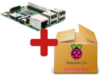 KIT RASPBERRY PI 3 CUBO LED
