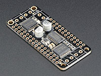 Adafruit DC Motor + Stepper FeatherWing - Add-on For All Feather Boards - 2927