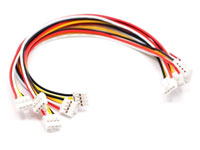 Set of 5 - 20 cm Module Cables - Plug and play - ACC90453O