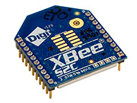 XBee 2mW con Antena Chip Serie 2