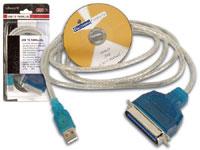 Interface Conexão USB para Paralelo Centronics