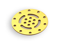 Makeblock - Disc 30°, 60° - Gold - 61351