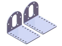 Metal Bracket Pair for 37D Motor (MM11357)