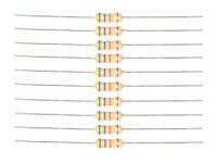 Carbon Film Resistor ½ W - 0.74 Ohms - 10 Units