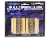 Set of 610 E12 Resistors - K/RES-E12