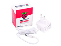 Raspberry Pi RPI4 PSU EU White Bulk - Bloc d'Alimentation pour Raspberry Pi - 5,1 V - 3 A - 187-3413