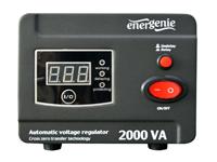 EnerGenie AVR-D2000-01 - Regulador y Estabilizador Voltaje Red 220V Automatico - 2000 VA