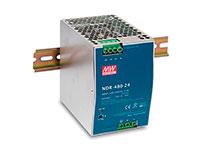Mean Well NDR-480-24 - Fonte de Alimentação Comutada Trilho DIN 480 W - 24 V