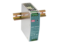 MEAN WELL - DR-120-24 - Switch-mode DIN rail power supply 120 W - 24 V