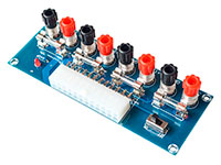 Module with 4 mm Terminals for Switching Power Supplies of ATX-type PCs