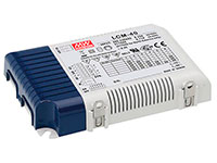 Mean Well LCM-40 - Constant Current LED Driver - 40 W - Selectable from 350 mA to 1050 mA and Dimable
