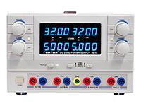 PeakTech 6210 - Alimentation de Laboratoire 2X0-30V / 2X0-5A, 2X5V / 1A - P6210