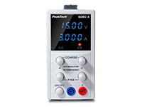 PeakTech P6080A - Laboratory Power Supply 0-15 V - 0-3 A
