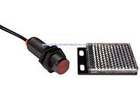 qwifm Retroreflective - Capteur Photoélectrique avec Réflecteur M18 PNP 10 .. 30 Vcc - 2 m - EN18P-D1S200PA