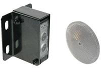 Velleman PEM10D - Capteur Photoélectrique avec Réflecteur 12 .. 250 Vca/Vcc - 10 m
