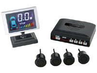 Velleman SPBS10 - Parking Sensor System with LCD Display and 4 Sensors